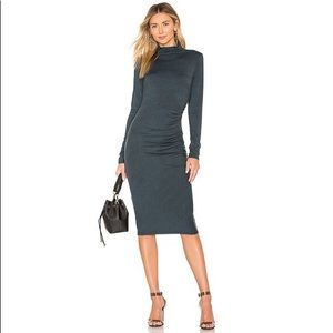 NWOT Michael Stars Mock Neck Midi Dress
